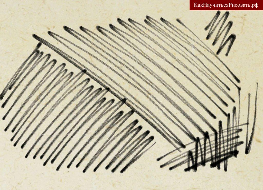 Штрих в рисунке