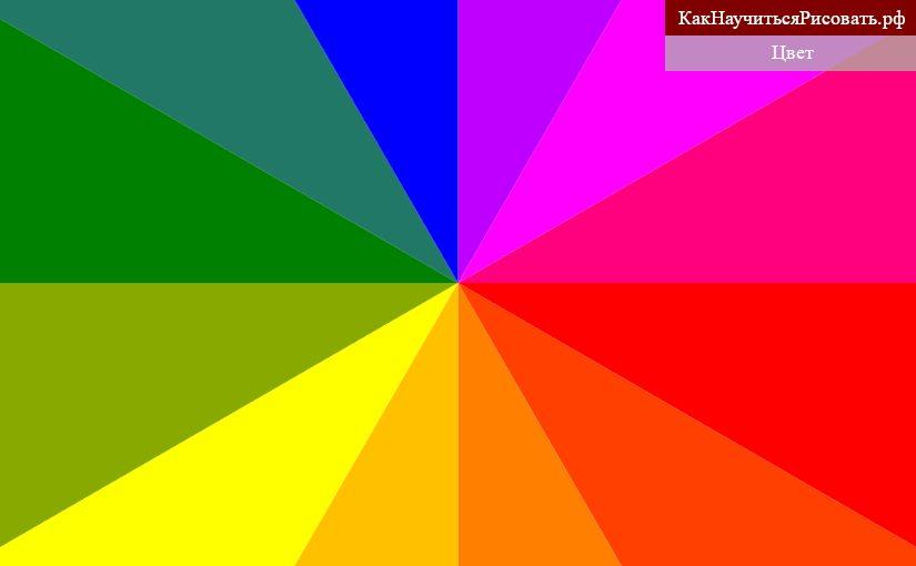 Цвет в композиции